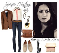 """""""Pretty Little Liars: Spencer Hastings"""" by crazykidcandace on Polyvore"""