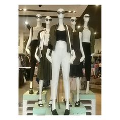 Trend: City edit Mannequin styling
