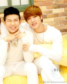 So cute my babies NamJin <3 Bangtan Boys