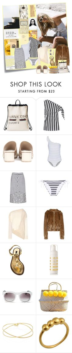 """""""Follow the Sun...."""" by sue-mes ❤ liked on Polyvore featuring Post-It, Sir The Label, Gucci, DaDa, Monse, Opening Ceremony, Bower, Johanna Ortiz, Heidi Klein and Burberry"""