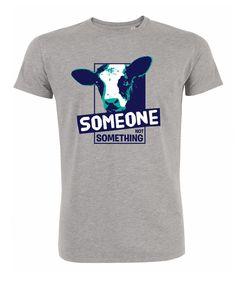 Someone, not something! Shirt // vegan & fair aus Bio-Baumwolle Vegan Fashion, Ethical Fashion, Vegan Shopping, Vegan Clothing, Longsleeve, Vegan Lifestyle, Style Inspiration, Mens Tops, Organic