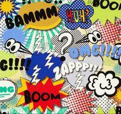 Tela FQ :: HUH :: de nosgustanlosretros por DaWanda.com