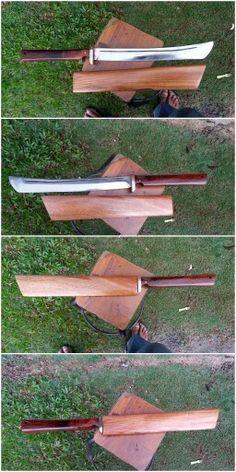 HCS wakizashi... visit my facebook page 5zone kustom knives
