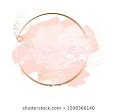 Modern card design, brush stroke, lines,. Flower Background Wallpaper, Logo Background, Flower Backgrounds, Baking Logo Design, Fond Design, Rose Gold Aesthetic, Rose Gold Frame, Decoration Plante, Instagram Frame