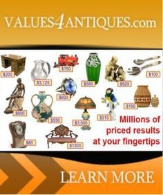 INSTANT APPRAISAL & MAKERS MARKS IDENTIFICATION FOR ANTIQUES and COLLECTIBLES Antique Perfume Bottles, Vintage Bottles, Vintage Glassware, Antique Appraisal, Antique Pottery, Pottery Marks, Antique Clocks, Copper And Brass, Selling Antiques
