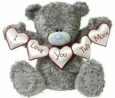 140 best Tatty teddy images on . Teddy Bear Quotes, Teddy Bear Images, Teddy Bear Pictures, Love Hug, Love Bear, Cute Love, My Love, Tatty Teddy, Das Abc