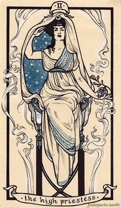 Arcana - II The High Priestess