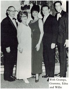 Joseph Manilow, Ester Manilow, Edna Manilow, Willie Murphy and Barry Manilow.