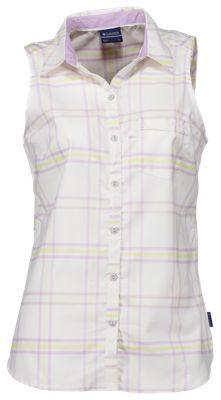 Columbia Super Harborside Woven Sleeveless Shirt for Ladies - Phantom Purple - XL