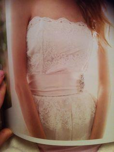 Pretty lace and ribbon belt