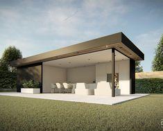 Casa Patio, Patio Roof, Backyard Patio, Patio Awnings, Modern Gazebo, Modern Patio, Outdoor Kitchen Design, Patio Design, Outdoor Kitchens
