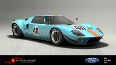 """The Ford GT40 was created with two clear goals: to propel Ford Motor Company into Le Mans history and blow Ferrari back to the Stone Age! And this exotic, low-slung (the """"40"""" in its name refers to its height in inches) street fighter carried out these not-insignificant tasks to perfection, conquering the 24 Hours of Le Mans -- and putting the prancing horse firmly in its place -- four years in a row. To drive the racer that led Ford's rush to world domination, get the Mk I today on…"""