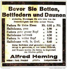 Original-Werbung/ Anzeige 1926 - BETTEN ALFRED HEMING - MÜNSTER - ca. 80 x 80 mm