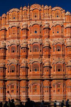"""""""Palace of Winds"""" Hawa Mahal, Jaipur, India"""
