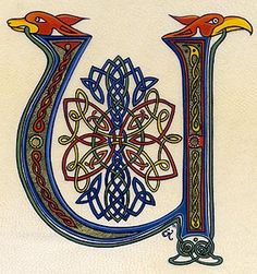 lettrines celtes U