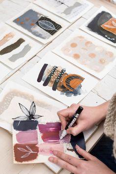 Laura Horn: Australian Artist, Instructor, and Social Media Master – Suzanne Redmond illustration Painting Inspiration, Art Inspo, Collage Art, Collages, Collage Drawing, Drawing Ideas, Creation Art, Guache, Australian Artists