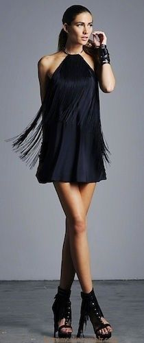Forget bottom fringe! This top fringe is stunning and would move perfect during a performance.