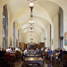 Hart house- gallery grill. U of T  Great brunch http://harthouse.ca/gallery-grill/