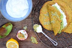Gluten-free Chickpea Crepes
