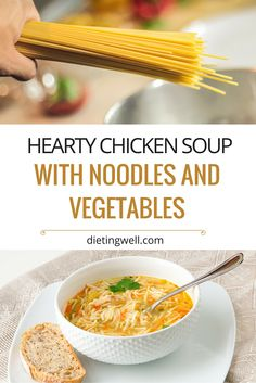This chicken soup recipe contains a few different seasonings and it is a win-win for those who are looking for delicious homemade soup recipes.