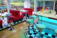 ¿Teneis fotos de los tipicos bares restaurantes americanos de los '50-'60? - ForoCoches
