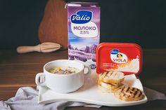 Сырный суп с перепелками, овощами и крутонами - пошаговый рецепт приготовления с фото Oatmeal, Breakfast, Tableware, Recipes, Food, The Oatmeal, Morning Coffee, Dinnerware, Rolled Oats
