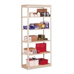"Penco Single Rivet 84"" H 5 Shelf Shelving Unit Starter Size: 84"" H x 36"" W x 12"" D"
