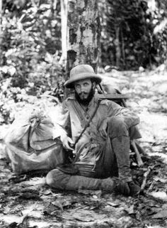Kermit Roosevelt, age 24. In 1913, Theodore Roosevelt's second-oldest son explored Brazil's River of Doubt with his father. The river was later named the Rio Roosevelt and a branch of the river was named the Rio Kermit.  He fought a lifelong battle with depression and alcoholism, and eventually committed suicide in 1943.