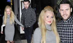 Their five year-relationship has certainly had its ups and downs, but Hollyoaks beauty Kirsty-Leigh Porter and her Emmerdale boyfriend Danny Miller looked more loved-up than ever on Saturday night.