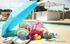 Shannon's Photography -Battle Creek, MI 3 month old bikini babe Amelia Yager