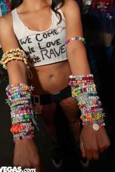We Come. We Love. We Rave.