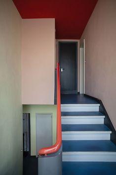Bauhaus Interior, Interior Exterior, Interior Architecture, Interior Design, Classical Architecture, Landscape Architecture, Bauhaus Colors, Bauhaus Building, Walter Gropius