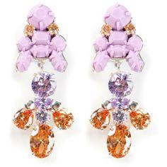EK THONGPRASERT silicone earrings ($158) found on Polyvore