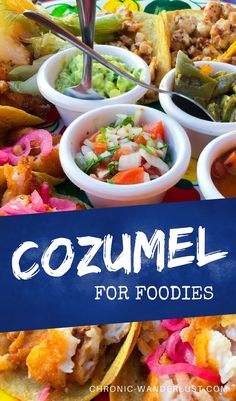 Cozumel for Foodies! Where to find the best spots for food on the island! One of the best things to do in Mexico aside from enjoying the beaces, is EAT! Find out the best foods and restaurants in Cozumel. Mexico Vacation, Mexico Travel, Cruise Vacation, Disney Cruise, Vacation Ideas, Cruise Travel, Vacation Places, Solo Travel, Mexico Food