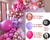 Etsy - Shopping Cart Orange Balloons, Pastel Balloons, Metallic Balloons, Rose Gold Balloons, Red Balloon, Confetti Balloons, Balloon Arch, Balloon Garland, Qualatex Balloons