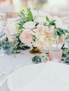 wedding centerpiece idea; photo: Michele Beckwith Photography