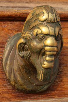 Door knob in Venice