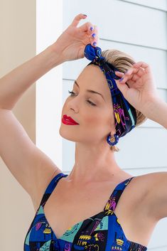 Polish your retro style with the Preservation Hall Trashy Diva Hair Tie! New Orleans Music, Preservation Hall, Trashy Diva, Beat Generation, Hands Together, Vintage Inspired Dresses, New Print, Lady And Gentlemen, Hair Ties