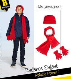 Veste #polaire, sweat polaire, #gants polaire... mon allié pour l'hiver ! #mode #enfant #NoëlBabou2016