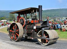 1916 Buffalo Springfield 30 HP steam roller