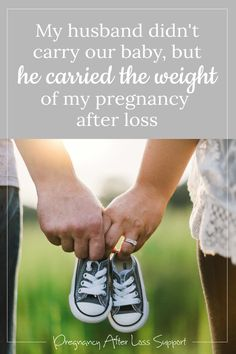 My husband carried the weight of my pregnancy after loss. He took care of me, and in doing so, he took care of our unborn child. #pregnancyafterloss #bereavedfather #pregnancyloss Pregnancy After Loss, Pregnancy Advice, Pregnancy Tips, Pregnancy Photos, Male Infertility Treatment, Causes Of Infertility, Stillborn Baby, Hospital Bag Essentials, Child Loss