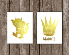 Queen/King of All the Wild Things I by LovelyLilyDesign