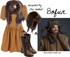 """Bofur inspired fashion!"" by erfquake on Polyvore"