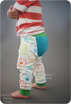 Happy Buns Britches: Cloth Diaper Pants Pattern, Ruffle Bum Pants Pattern on Etsy, $7.95