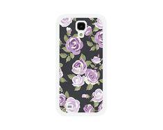 Purple Floral Samsung Galaxy S3 Case or Samsung