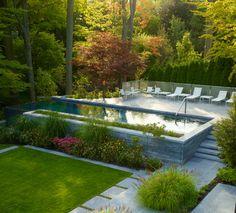 Ravine 1 - contemporary - Pool - Toronto - MHLA Inc