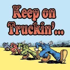 keep on truckin'... T-shirts, stickers, this guy was everywhere in the 70's