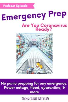 No panic, step-by-step prepping for any emergency. Be ready for natural disasters, quarantines, or anything that comes your way. Make sure you have what you need for you family in any situation. Survival Food, Survival Prepping, Emergency Preparedness, Survival Skills, Health Advice, Health And Wellness, No Panic, Emergency Preparation, Family Planning
