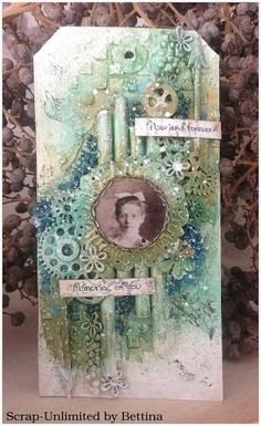 BETTINA - Scrap-Unlimited: Mixed media tag