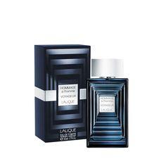 HOMMAGE À L'HOMME VOYAGEUR  Eau de Toilette Packaging and Flacon | Perfume for men | Lalique Parfums